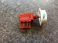 Creda W100FW washing machine on / off button and switch