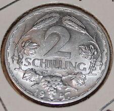 2 Schilling Österreich 1947 vz
