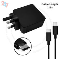65W USB-C Adapter Charger Compatible Lenovo 01FR028 WITH UK PLUG S247