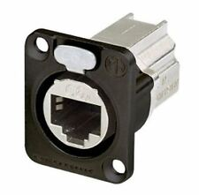 Neutrik etherCON Series CAT6A D shape Connector for use with etherCON Connectors