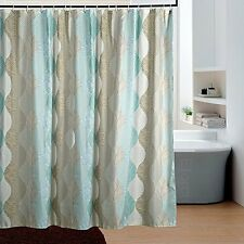 Novelty Pattern Water Repellent Shower Curtain Fabric Moldproof Bathroom