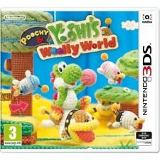 Poochy and Yoshi's Woolly World Nintendo 3ds Game