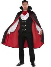 Adult Men's True Vampire Count Dracula Halloween Fancy Dress Costume