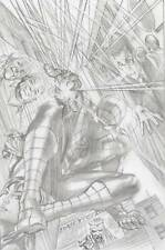 The Amazing Spider-Man #1 1:300 Alex Ross Sketch Variant Marvel 2014 Comic Book
