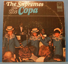 THE SUPREMES AT THE COPA VINYL LP 1965 MONO ORIGINAL PRESS NICE COND! VG/VG!!B