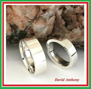 REAL SILVER WEDDING RINGS, SILVER FRIENDSHIP RINGS, SILVER COMMITMENT RINGS