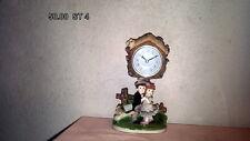 Uhr Tischuhr Kaminuhr Stiluhr Keramik Neu