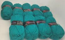 Lot of 9 Matched Skeins Vintage Jakobsdals Bonnie - 622 Jade