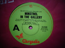 "Jethro Tull ""Minstrel In The Gallery"" 1975 CHRYSALIS Oz 7"" 45rpm"