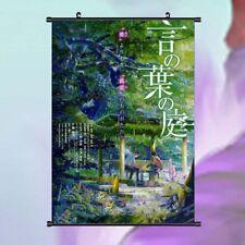 Cartla película anime el jardin de las palabras el jardín de palabras 24*36 Pulgada