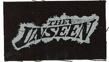 THE UNSEEN web logo CLOTH PATCH sew on **Free Shipping** state of discontent