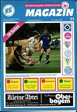 03./04.01.1986 HT Karlsruher SC, FC Basel, 1. FC Nürnberg, Hamburger SV, ...