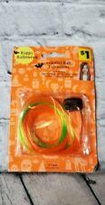 Discontuned Girls Halloween Costume Dress Up Hair Extensions Green Orange New