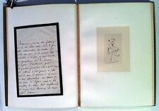 HAUSSOULIER : La Semaine, dessins par INGRES, album in-4 relié par GRUEL, 1869