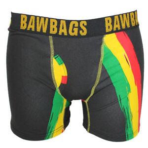 Bawbags Rasta Boxer Shorts