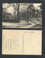 1940s SOUTH VIEW OF COLONY WARM SPRINGS GEORGIA POSTCARD