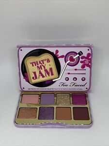 Too Faced That's My Jam On The Fly Eyeshadow Palette Nib