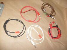 5 lot Banana Plug to Alligator Clip Test Hook Probe Cables  For Multimeter