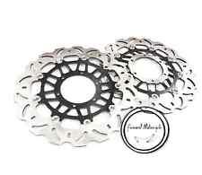 Front Set Brake Disc Rotor For Honda VTR1000 00-01 SC45 02-07 Motorcycle