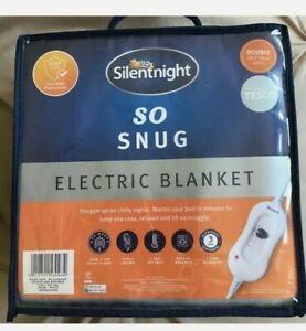 Silentnight So Snug Double Size Electric Blanket