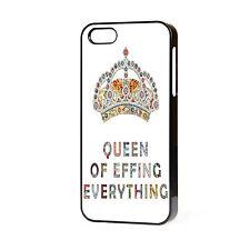 Princesa reina de todo teléfono caso se adapta iPhone 4 4S 5 5S 5C 6 Gratis P&P