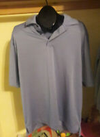 FJ FOOTJOY MENS POLO SHIRT GOLF POLY SIZE XL XLARGE BLUE