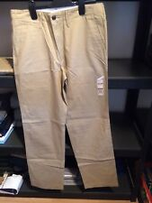 Dockers D2 Pantalones chino rectos por Levi 31x34 Nueva con etiquetas