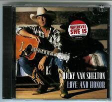 "RICKY VAN SHELTON, CD ""LOVE AND HONOR""   NEW SEALED"
