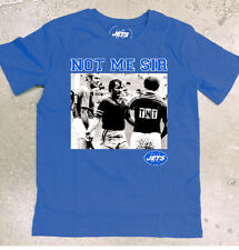 """Newtown Jets New Release """"Not Me Sir"""" Tshirt  (Blue or Black)"""
