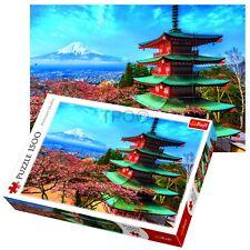 Trefl 1500 Piezas Adulto Grande Monte Fuji Japón volcán Rompecabezas Nuevo