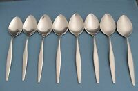 """8 Soup Spoons Oneida WM A Rogers WINDRIFT Premier Stainless 6 7/8"""""""