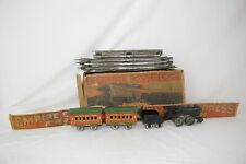 1930's American Flyer Windup Empire Express Train Set with Original Box, Nice