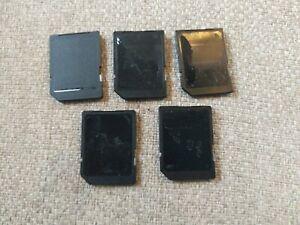 Set Of 5 4gb SD digital storage Cards Blank