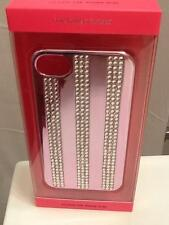 Victoria's Secret Bling Pink Rhinestone Stripe Snap Phone Case for 4 & 4S iPhone