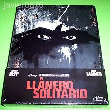 EL LLANERO SOLITARIO DISNEY BLU-RAY NUEVO Y PRECINTADO STEELBOOK