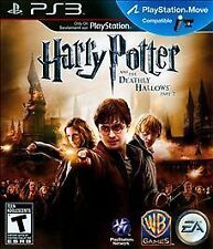 HARRY POTTER AND THE DEATHLY HALLOWS PART 2 PS3! MOVE COMPATIBLE! WIZARD MAGIC