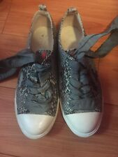 Prada Snakeskin Sneakers Size 36