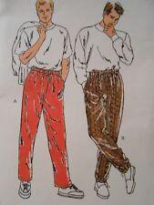 VINTAGE KWIK SEW MEN'S TRACK or SWEAT PANTS PATTERN 2001 SIZE S M L XL UNCUT
