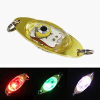 LED Tief Tropfen Unterwasser Auge Form Fischen Fisch köder Licht Blinkend L O4U6