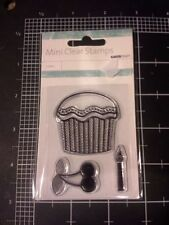 Cupcake Kaisercraft Clear mini Stamps - Party birthday