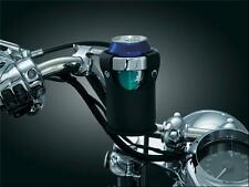 KURYAKYN Handlebar Cup Holder for 1 Handle Bars Universal Harley Honda Kawasaki