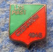 PIAST CZEKANOW POLAND FOOTBALL FUSSBALL SOCCER 1980's ENAMEL PIN BADGE
