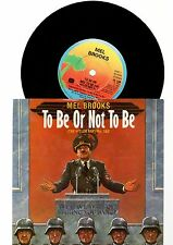 """MEL BROOKS - TO BE OR NOT TO BE (THE HITLER RAP) part 1 & 2 (7"""" single)"""