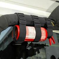 Car Roll Bar Fire Extinguisher Holder Mount Bracket New For Jeep-Wrangler V9Z1
