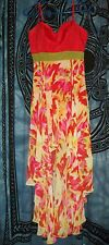 HOLLYWOULD size 7 Beautiful Dress adjustable straps Asymmetrical Sexy Style NICE