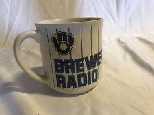 Vintage 80's Milwaukee Brewers radio mug