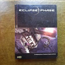 ECLIPSE PHASE CORE RULEBOOK  RPG ROLEPLAYING TRANSHUMAN CYBERPUNK SCIFI ROLEPLAY