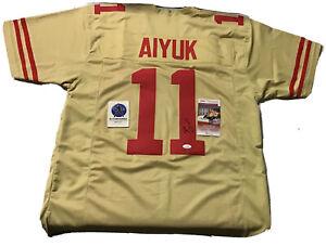 Brandon Aiyuk  signed San Francisco fortey niners jersey jsa coa JL/K3 szXL