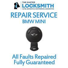 Repair Service For BMW Mini key fobs Dashboard keys Smart keys, Cooper Mini One