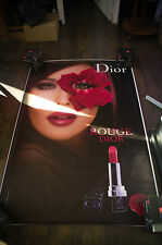 DIOR ROUGE MONICA BELLUCCI B 4x6 ft Bus Shelter Original Vintage Fashion Poster